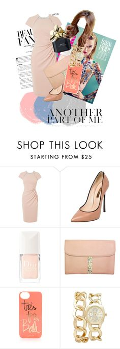 """""""Untitled #16"""" by angeliquemetta ❤ liked on Polyvore featuring L.K.Bennett, Casadei, Christian Dior, Rifle Paper Co, Forever New and Marc Jacobs"""