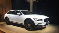 Volvo unveils all-new V90 Cross Country estate