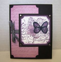 Garden Collage Thank You by Lisa G. - Cards and Paper Crafts at Splitcoaststampers
