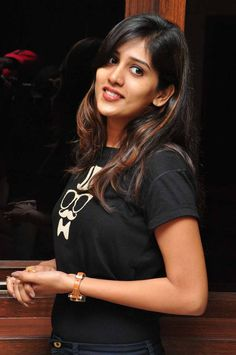 Chandini Chowdary Stills In Black Dress - Tollywood Stars Youtube Stars, Beautiful Girl Indian, Still Image, Actress Photos, High Quality Images, Beautiful Images, Photo Galleries, Saree, Photoshoot