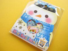 Kawaii Cute Merry Christmas (Xmas) Sticker Flakes Sack Crux (00255)❤️