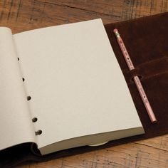 No. 9 Journal with Unruled Filler- love Col. Littleton products.  And his chapel talk was one of the best I've ever heard.
