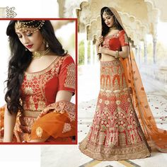 Indian Bollywood Wedding Designer Bridal Pakistani Eid Heavy Lehenga Choli Dress #Handmade #Lehenga