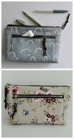 Your choice Zipper travel bags Popcorn Pouch Makeup Bag SIZE MEDIUM