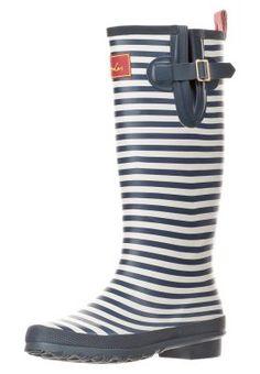 WELLY - Gummistiefel - navy stripe