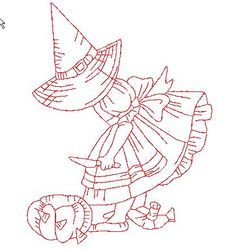 Witch Sunbonnet in Red Machine Embroidery Patterns, Quilt Patterns Free, Hand Embroidery Designs, Embroidery Alphabet, Embroidery Applique, Cross Stitch Embroidery, Halloween Quilts, Copics, Applique Quilts