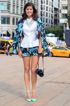 Street Style 2013: Florals - FLARE#gallery_top#gallery_top#gallery_top