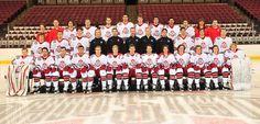 Team Photo Ohio State University, Ohio State Buckeyes, Men's Hockey, Team Photos, Athlete, Sports, Fun, Hs Sports, Fin Fun