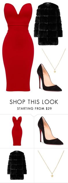 """Untitled #124"" by kimmie-aiken on Polyvore featuring Christian Louboutin and Givenchy"