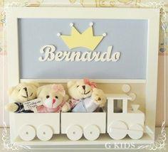 Porta Maternidade,enfeite de porta,decoração quarto infantil,porta maternidade coroa, baby room, nursery, decoração quarto de bebê - REF 1021 www.gkids.com.br