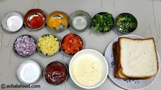 Bread Bhajiya Recipe is crispy tea time snack.Get full bhajiyas Recipe with ingredients,step directions with photos,recipe video & notes/tips Vegetarian Rice Recipes, Curry Recipes, Snack Recipes, Pie Recipes, Indian Appetizers, Indian Snacks, Indian Veg Recipes, Pakora Recipes, Green Chutney