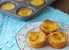 portuguese custard tarts via @http://biscuitsoftoday.com/2012/02/21/im-stuck-making-portuguese-custard-tarts/