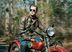 Indian Scout 101 in The Curious Case of Benjamin Button. Brad Pitt.