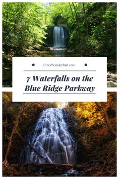 For a road trip you'll never forget on one of America's most scenic highways, go chase waterfalls on the Blue Ridge Parkway! Nc Mountains, North Carolina Mountains, Appalachian Mountains, Blue Ridge Mountains, Monteverde, Blue Ridge Parkway Asheville, Blue Ridge Parkway Virginia, Blue Ridge Georgia, Oh The Places You'll Go