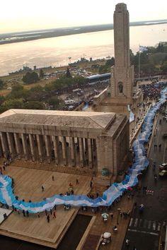 Monumento a la Bandera, ciudad de Rosario, provincia de Santa Fe, Argentina