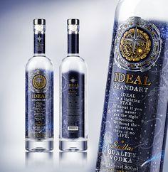 """Vodka """"IDEAL STANDART"""""""
