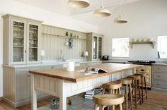 The Warwickshire Barn Shaker Kitchen by deVOL - Farmhouse - Kitchen - Other - by deVOL Kitchens Devol Shaker Kitchen, Shaker Style Kitchen Cabinets, Devol Kitchens, Shaker Style Kitchens, Kitchen Cabinet Styles, Home Kitchens, Farmhouse Kitchens, Modern Farmhouse, Kitchen Layout