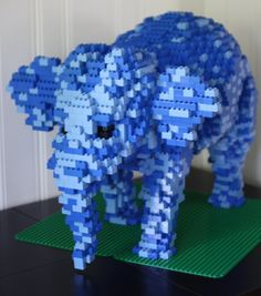 Build With Me Blog: From Duplo India With Love: Elephant