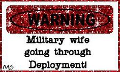 My husband just left for deployment on July 12 2012. Yes it's hard and yes I miss him. Enough said.