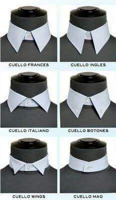 Diferentes estilos de cuello
