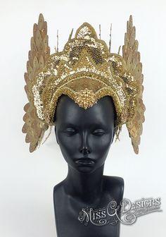 Headdress Golden Pri
