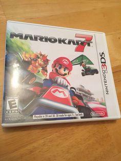 Mario Kart 7 Nintendo 3DS 2011 Case Video Game Cartridge 3 DS #Nintendo