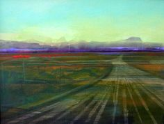 Landscape with track 3 - Michael Burles