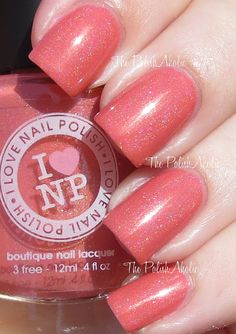 I Love Nail Polish - Grande Sunset.  I'm am in serious need of this polish!  Just stunning!  (Swatch from The Polish Aholic)