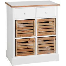 Nice Cabinet Hall Unit Sideboard Cupboard Storage Chest of Drawers HX