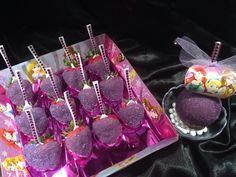 Disney inspired glam berries  Sanding sugar