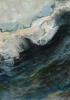Painting: Lia Melia - Songs of Melusina 4 - 2012