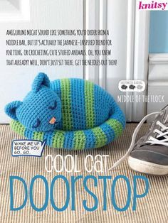 door stopper cat - Google Search & draft-stopper-cat | Autour de la laine ~ garn ~ fun u0026 co ...