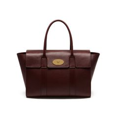 Mulberry - New Bayswater in Oxblood Natural Grain Leather