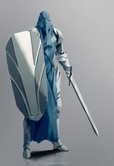 The Blind Paladin - Character Concept Art Fantasy Character Design, Character Concept, Character Art, Fantasy Armor, Medieval Fantasy, Dnd Characters, Fantasy Characters, Armor Concept, Concept Art