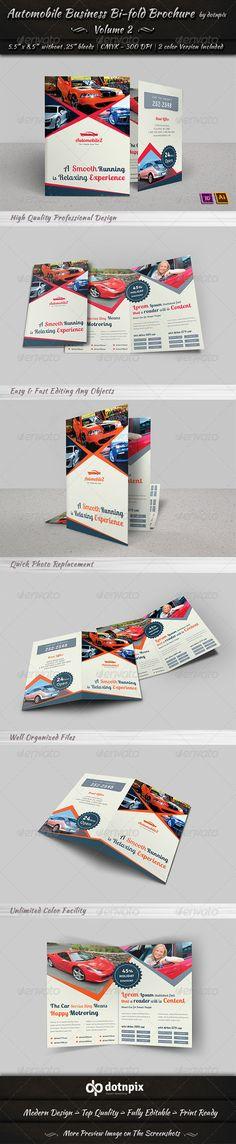 Automobile Business Bi-Fold Brochure | Volume 2