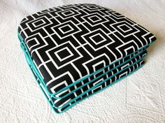 Ash Geometric Outdoor Cushion 38cm x 38cm by NewhookDesign on Etsy, $52.00