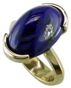 14ky Lapis Lazuli Ring - Mardon Jewelers