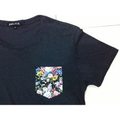Floral pocket tees the frocket our first collectable tshirt