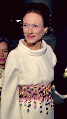 "Wallis Simpson (Bessie Wallis Warfield-Spencer-Simpson) (1896-1986) USA wife of King Edward VIII ""David"" (1894-1972) UK, Duchess of Windsor."