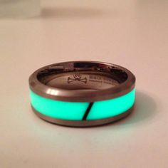 Illuminated Titanium Rings – Way too expensive. But cool.