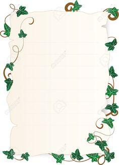 Image Result For Ivy Leaf Border