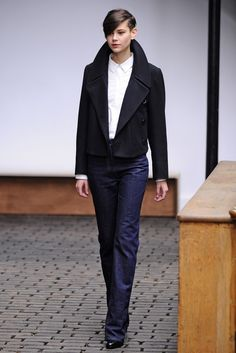 Christophe Lemaire RTW Fall 2013....................................a good sign, designers going butch.