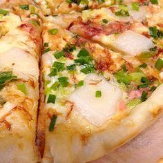 白ワインや日本酒のおつまみとしても最高! - 11件のもぐもぐ - タコの塩辛で和風ピザ by figgarocha