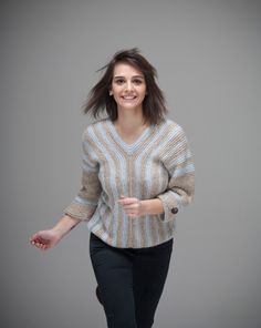 On The Road sweater one of a kind by NihanAltuntas on Etsy