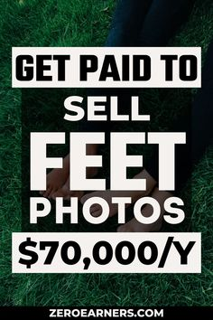 Have you ever thought about getting paid to sell photos online? No? Want to make extra money? Yes? Here are some of the best places to sell feet photos online. #sellfeetphotos #sellfeetpics #feetpics #makemoneyonline #parttimejobs #sidehustles #sellstuffonline