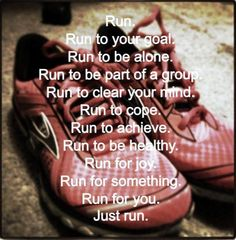 I finally got the motivation to run.healthy weight here i come! I Love To Run, Just Run, Just Do It, Running Quotes, Running Motivation, Fitness Motivation, Track Quotes, Fitness Quotes, Daily Motivation