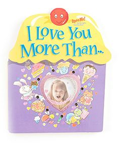 I Love You More Than Board Book by mastermedia #zulily #zulilyfinds