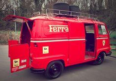 1979 Renault Estafette Ferrari Team Van - http://f1-racing-news.com/