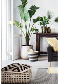 hm home living room * hm home ; hm home bedroom ; hm home living room ; hm home kids ; hm home 2020 ; hm home kitchen ; hm home spring 2020 ; hm home bathroom Home Living Room, Living Room Decor, Living Spaces, Apartment Living, Apartment Ideas, Apartment Plants, Bedroom Apartment, Living Room Neutral, Plants In Living Room