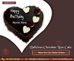 Once in a life time you meet someone who changes everything in your life.  Now its your chances to make them feel special.  Order Love Cake Online from CakeNJoy: http://www.mycakenjoy.com/product/love-cake-13/  OR  Email: order@mycakenjoy.com Call: +91 9427700487  #LoveCake #Cakes #OrderOnline